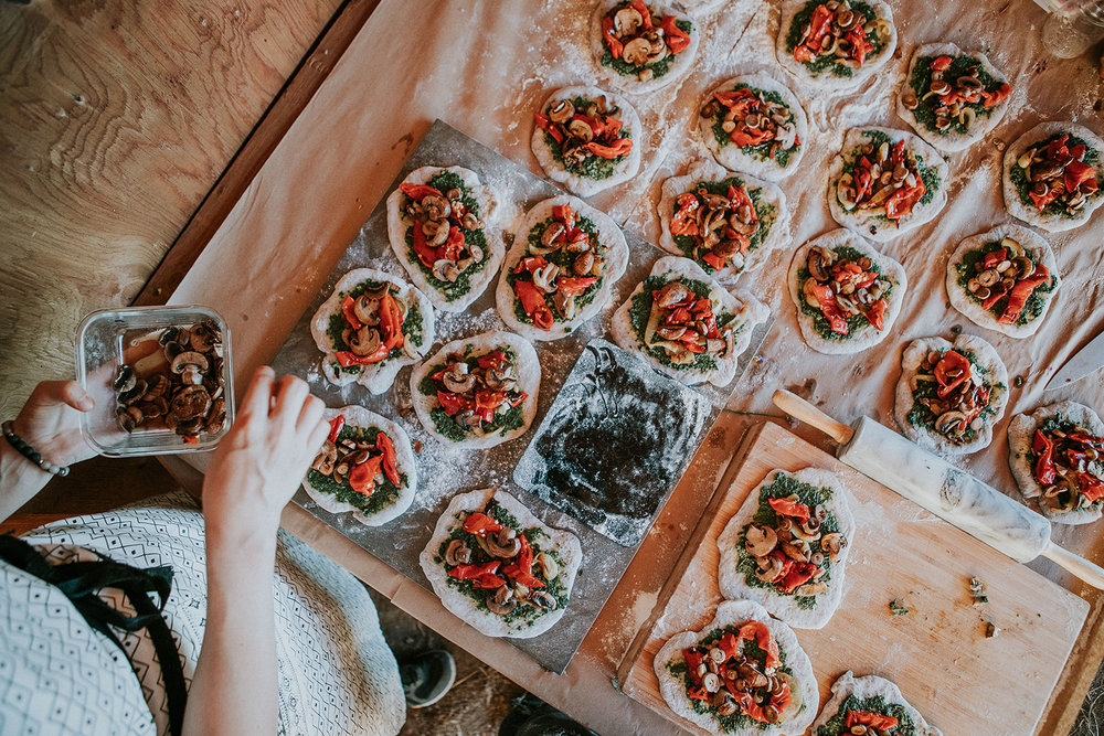 pizza at rosy farms - the nomadic wife - sara jewell photography