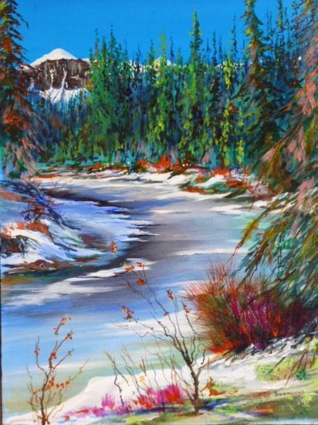 "sold- ""Policeman's creek""-20 x24"