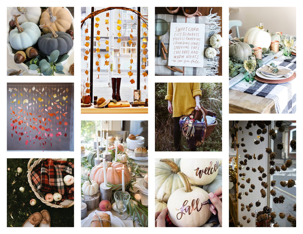 Moodboard Two - Cozy Classic Fall