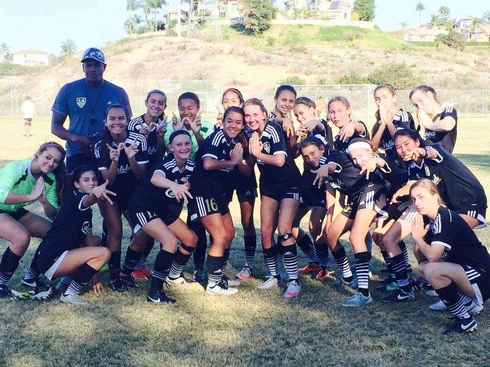 soccer girls team