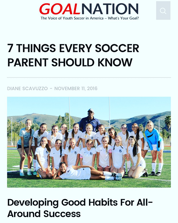 Coach Daniel article/ interview just got publish on the very Popular Goalnation.com please take the time to read and get a few tips from it. http://goalnation.com/7-things-every-soccer-parent-should-know/