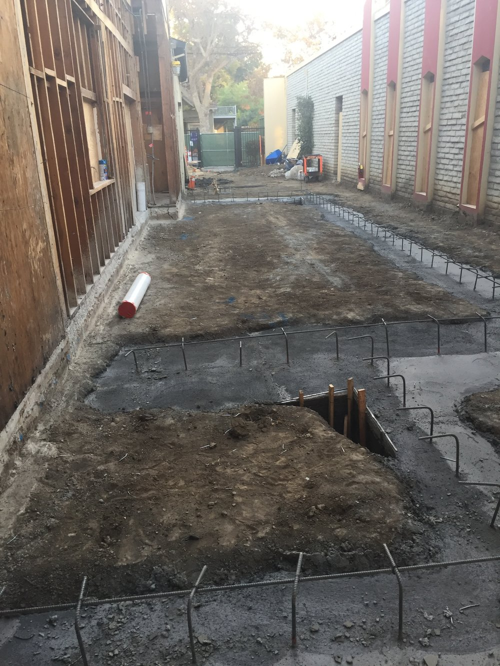 2018-11-03 Kitchen/laundry foundation footings