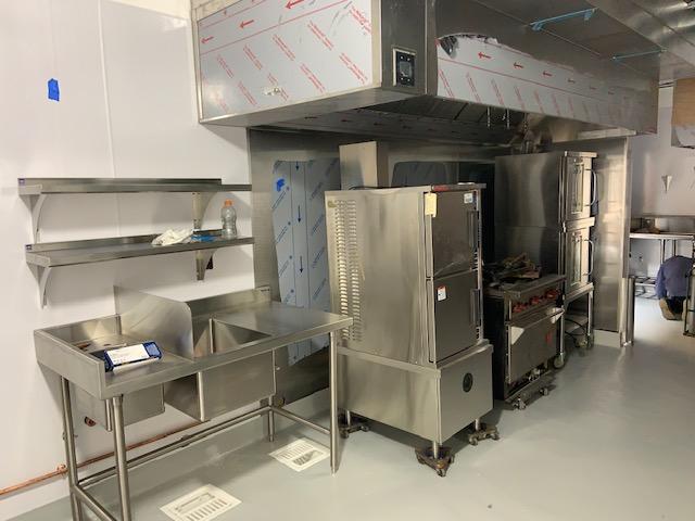 4-02-2019 New kitchen equipment