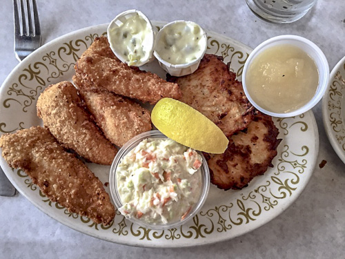 Friday Fish Fry is a big deal here in MKE!