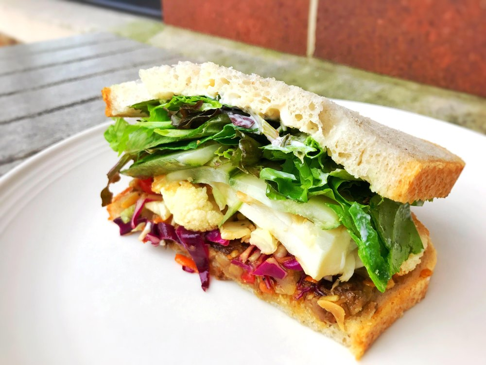 Vegetarian Num Pang Sandwich