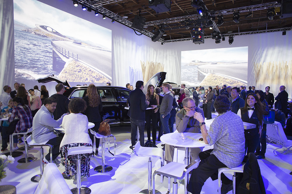 Volvo XC90 Release Event - actual room