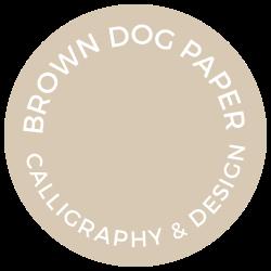 BROWN DOG PAPER