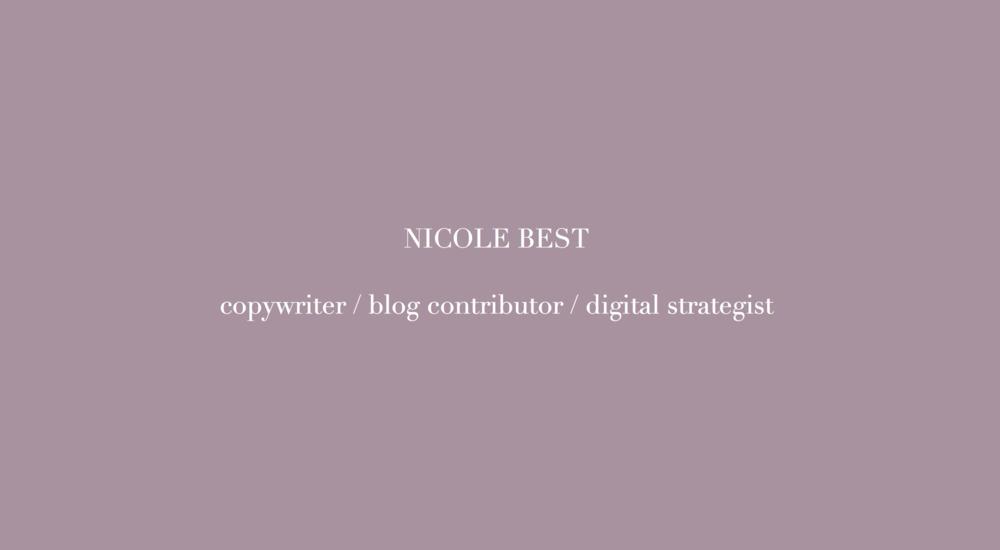 Nicole Best Deck