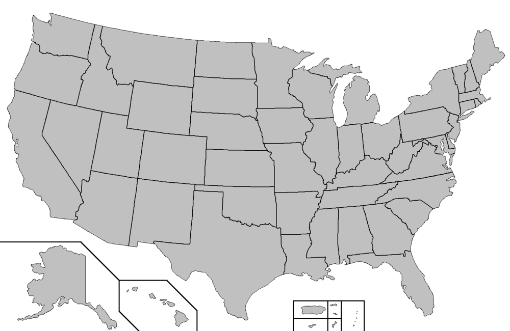 Click on Map to view State Legislative Resources by State