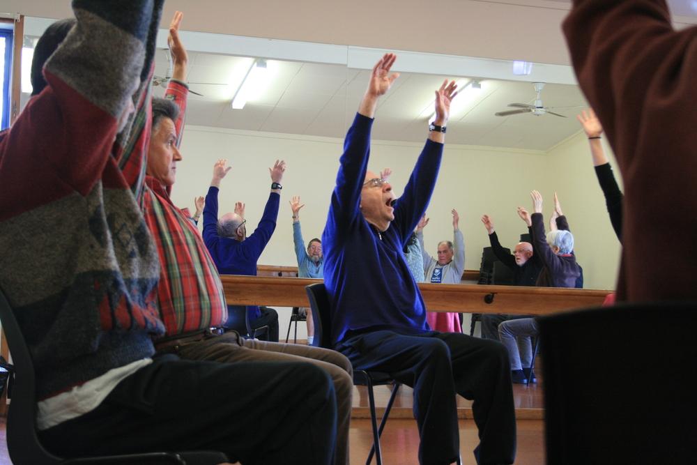 Parkinson's Group at Sunnynook Community Centre