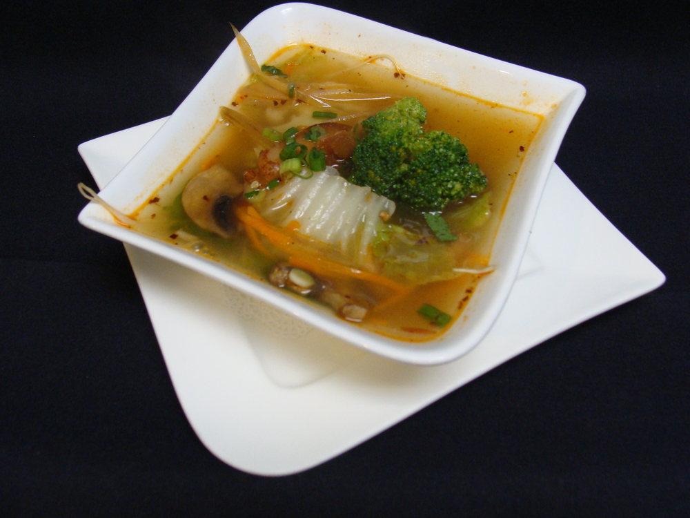 Tom Yum Vegetable