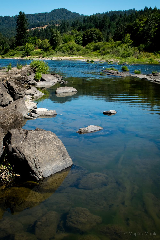 Umpqua River @ Tyee Campground