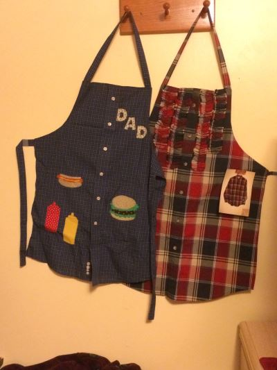 Apron from Man's Shirt