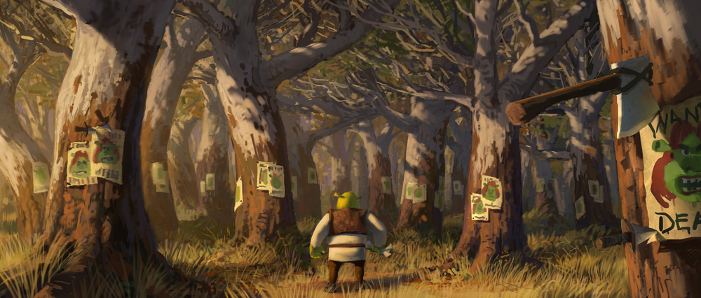 Shrek Forever After, DWA Color Key