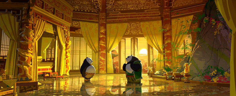 Kung Fu Panda 3, DWA Color key - Chrysanthemum suite