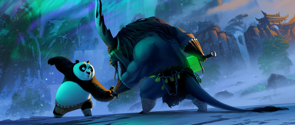 Kung Fu Panda 3, DWA Color key