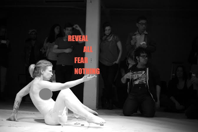 Madison Young.  Reveal All Fear Nothing .