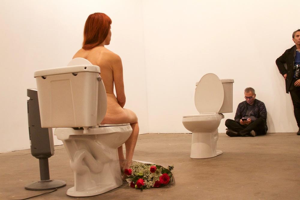 nudity toilet
