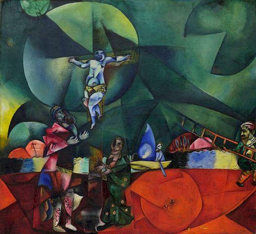 Marc Chagall's 1912 Calvary
