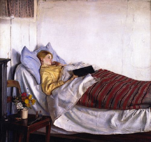 Michael Peter Ancher, The Sick Girl