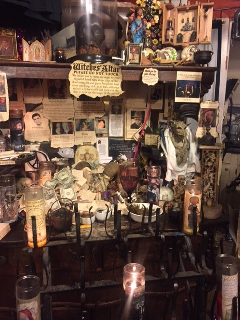 Figure 1: Hex Old World Witchery Shop Altar