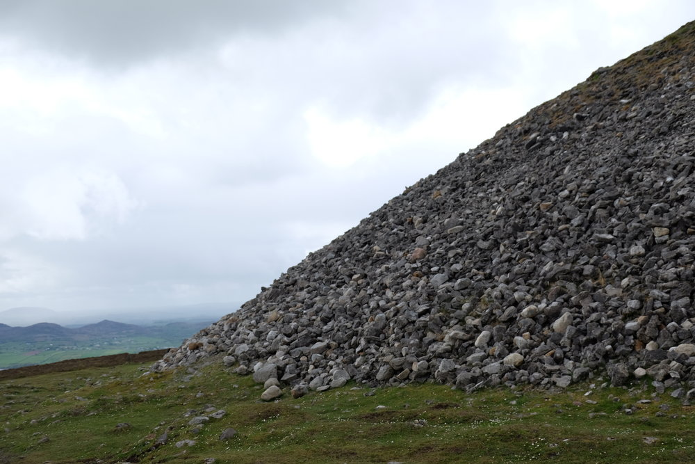 Cairn at summit of Knocknarea.