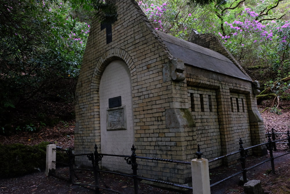 Mausoleum of Margret and Mitchell Henry.
