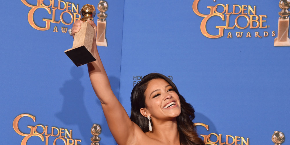 Gina Rodriguez Wins Best Actress At The Golden Globes, Gives Powerful Speech via HuffPost