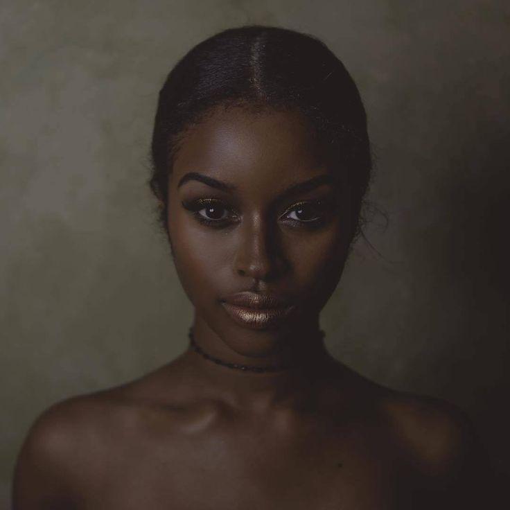 via  Dark Skin Women