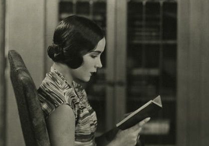 Photo of Dolores Del Río via Women Reading