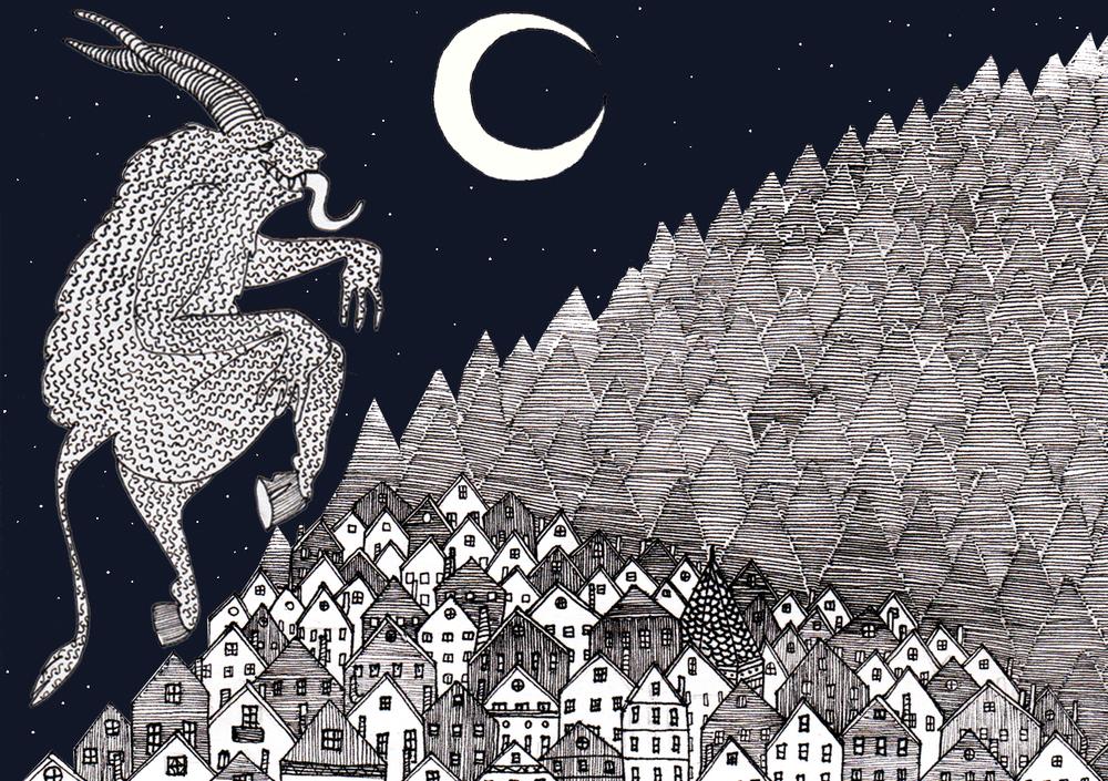 Illustration by artist  Lucy Smyth