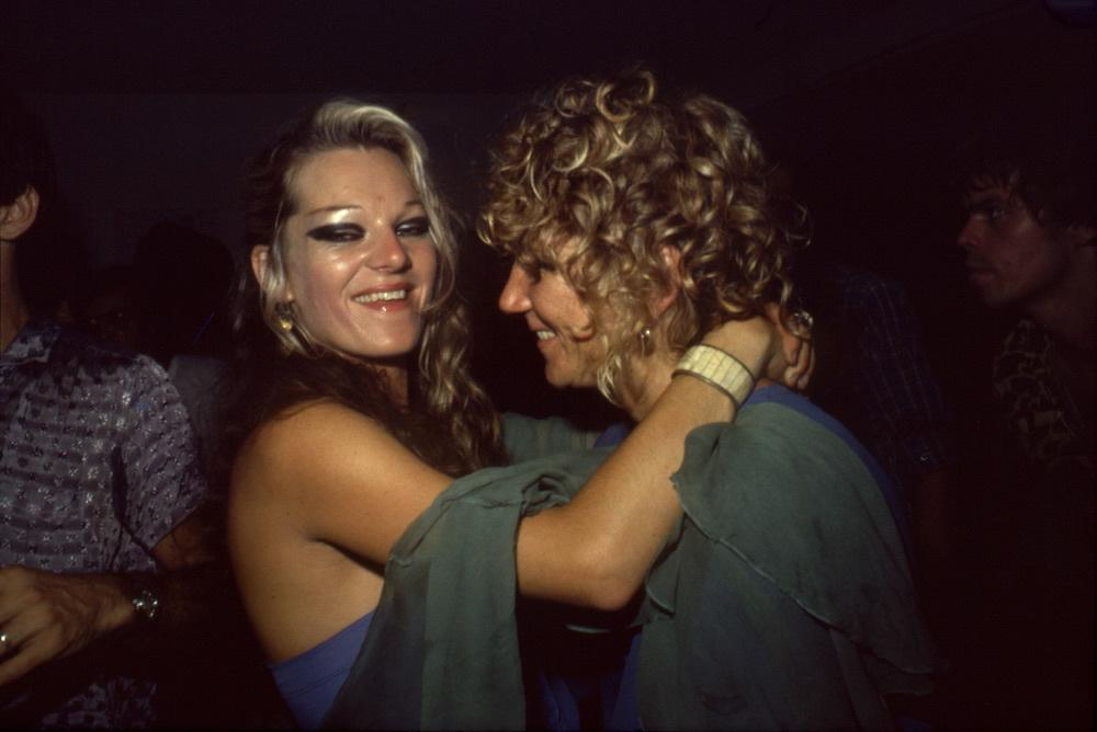 Cookie with her lover Sharon Niesp, via  Vice