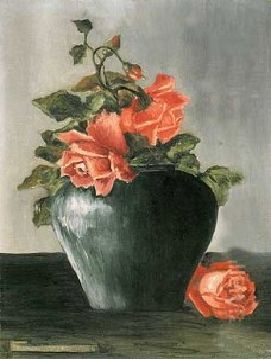 Still Life, Roses. Frida Kalho.