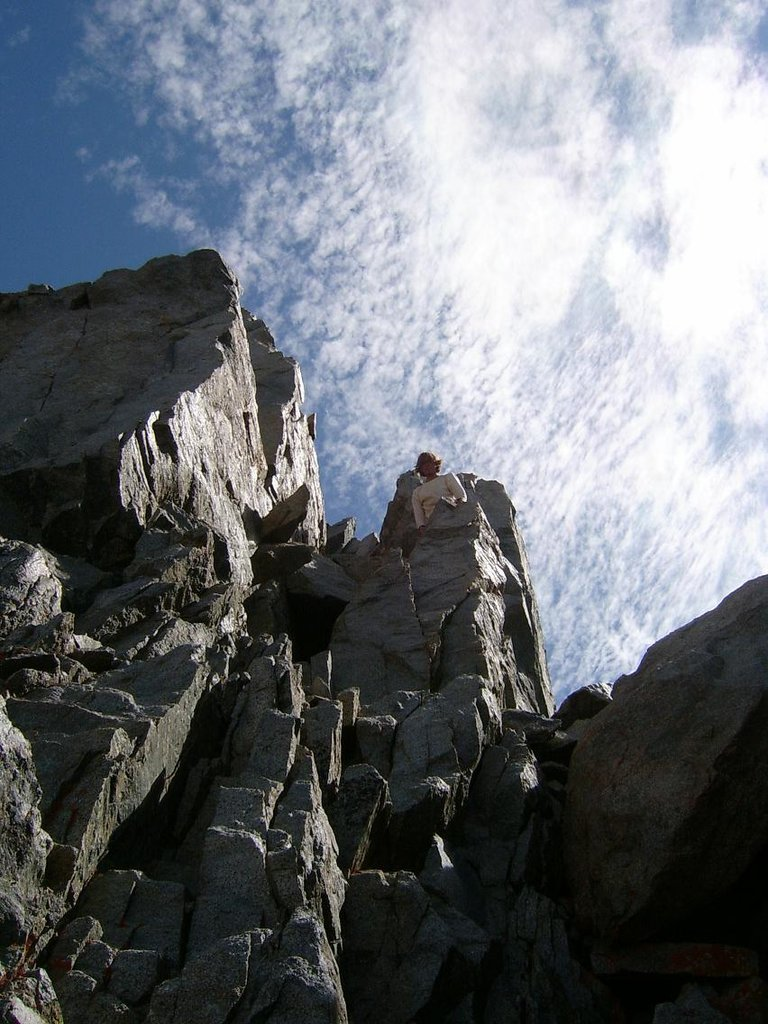 "What a ""tight loose chimney"" looks like - Courtesy ""Wobby"" SummitPost.org"