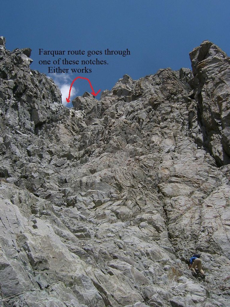 "Middle of the Farquhar Route - Courtesy ""Wobby"" SummitPost.org"