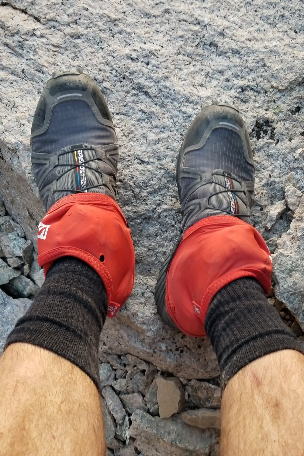 Dig these shoes/setup! Salomon - Speedcross 4