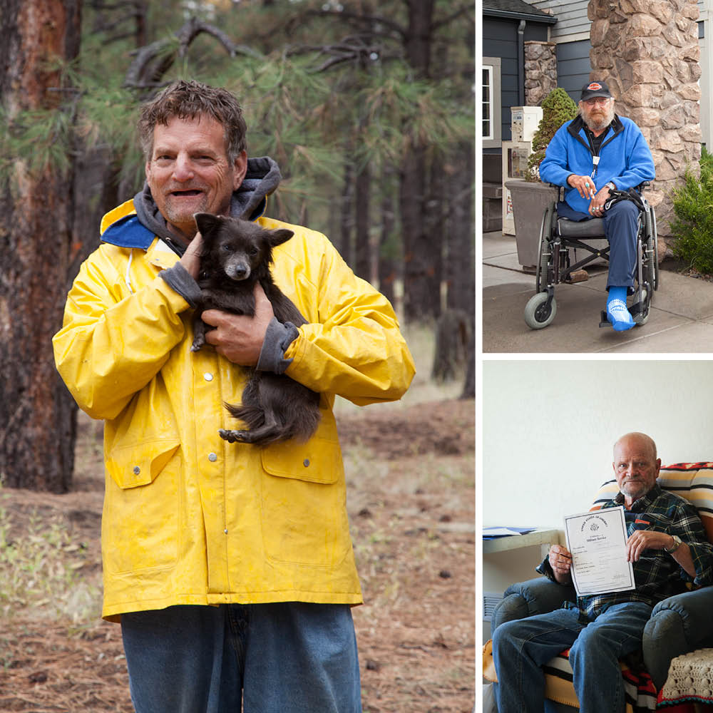 Flagstaff Homeless - Photographed for Phoenix Magazine