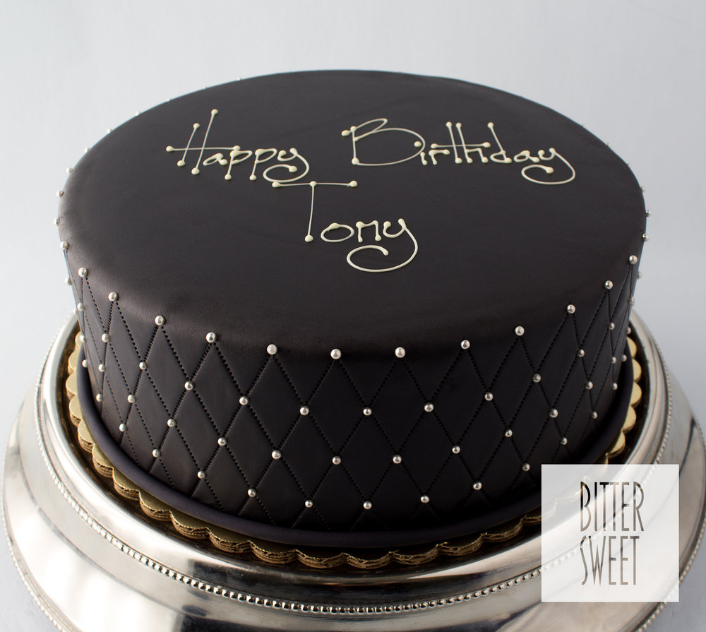 Bittersweet Birthday_Black Quilted Fondant.jpg