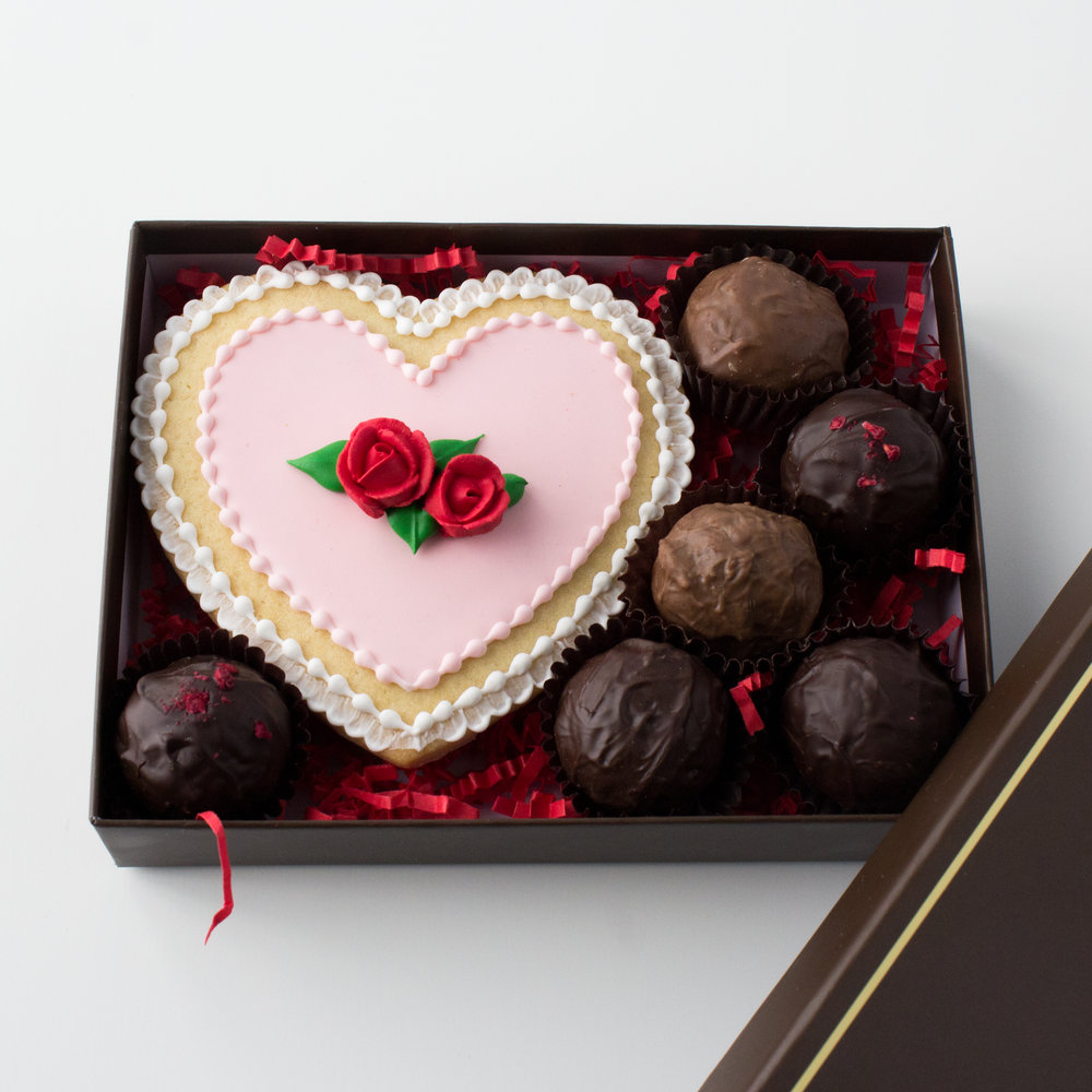Gifts that delight - From hand-decorated cookies to chocolate-dipped strawberries, our treats are the sweetest way to show you care.