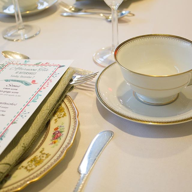 A few more spots left for the January 13th tea! Warm your heart & nourish your soul with a lovely, civilized afternoon tea service. Info and tickets on our homepage at BittersweetPastry.com