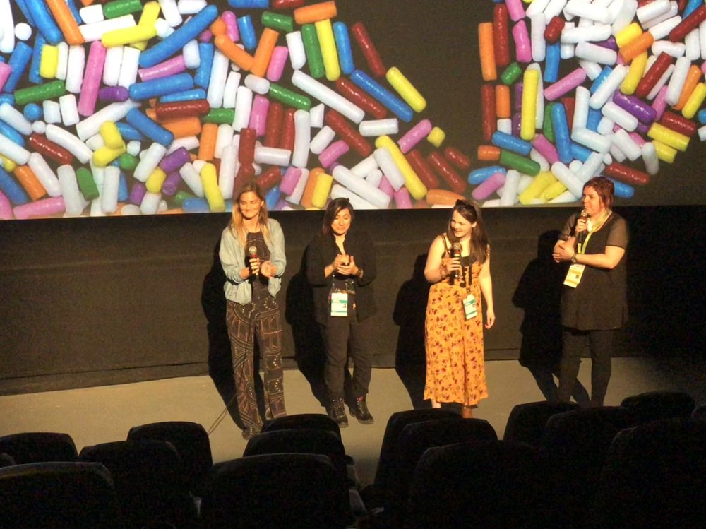 Q&A at Hot Docs in Toronto
