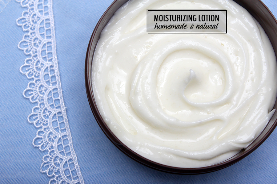 natural homemade moisturizing lotion