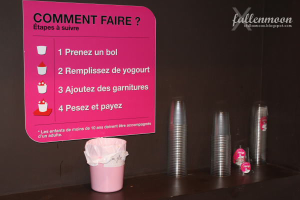 instructions for yeh yogourt et cafe