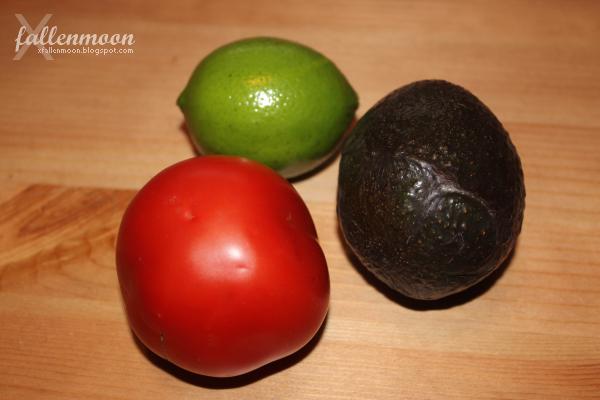 tomato avocado lime guacamole ingredients