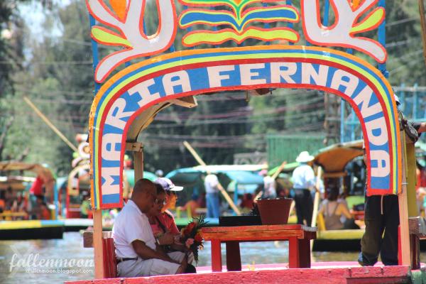 colorful boats xochimilco