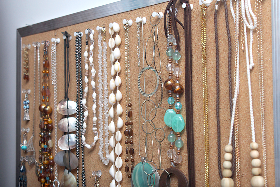 do it yourself jewelry organisation