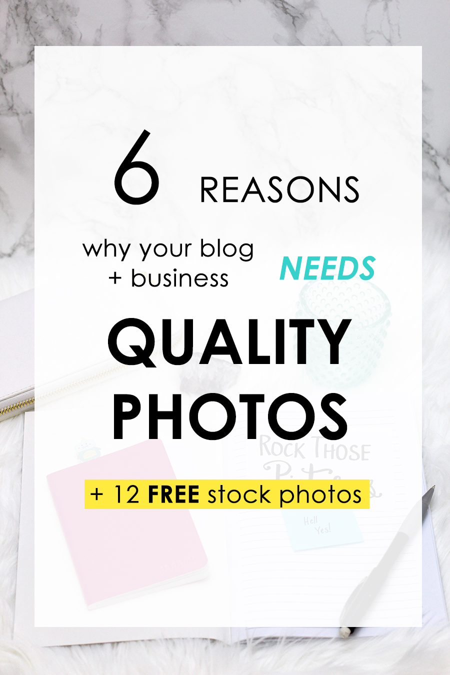 6 reasons why your blog and business needs quality photos + 12 free stock photos. Click through to read.