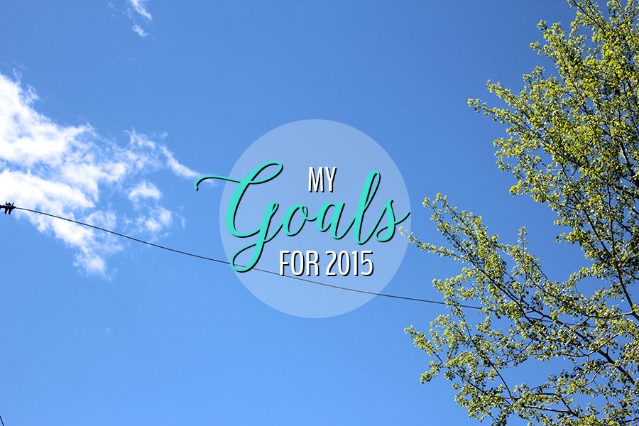 2015 goals.