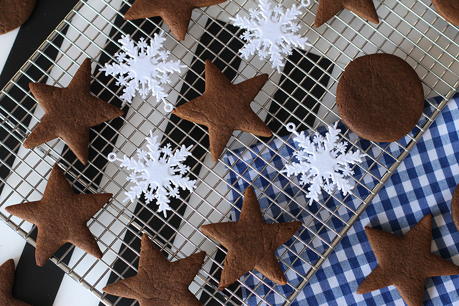 Egg free gingerbread cookies.