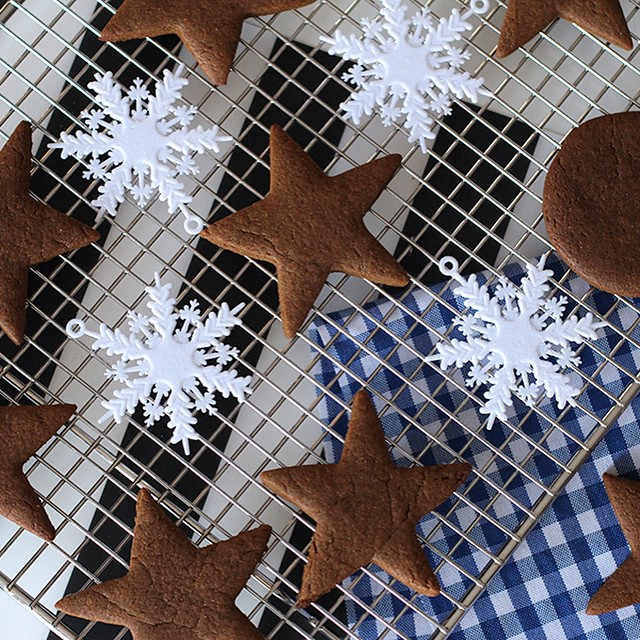 ginger bread star cookies for christmas.jpg